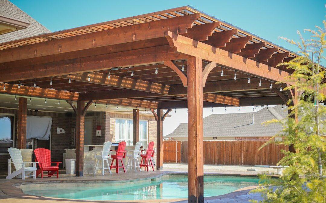 OKC Pergolas Great Cedar Structure