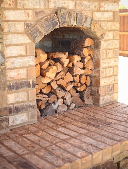 Outdoor Fireplace OKC 105