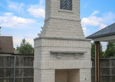 Outdoor Fireplace OKC 115