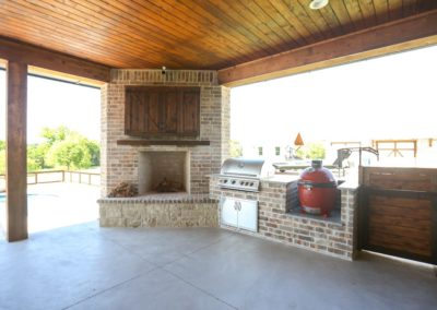 Outdoor Fireplace OKC 116