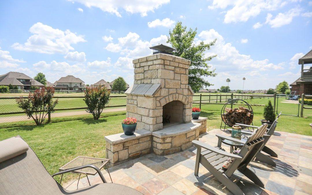 Outdoor Fireplace Tulsa | When Do You Want To Enjoy Your Backyard?