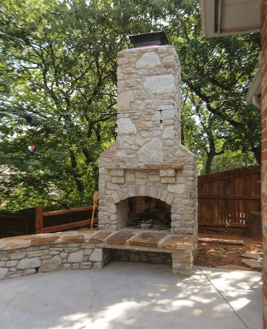 Tulsa Outdoor Fireplace | What We Do Better at Pmh Okc?