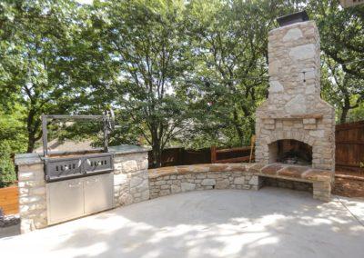 Outdoor Fireplace Tulsa