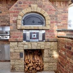 Outdoor Fireplace OKC 121