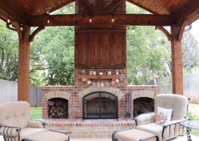 Outdoor Fireplace OKC 124