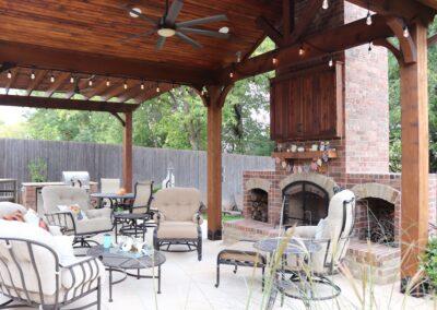 Outdoor Fireplace OKC 125