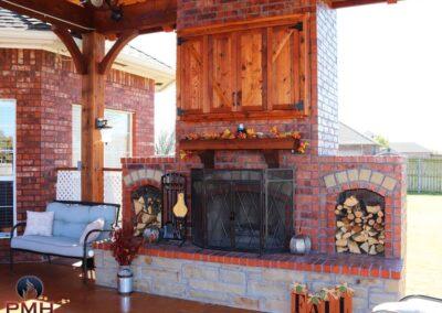 Outdoor Fireplace OKC 126