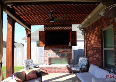 Outdoor Fireplace OKC 127