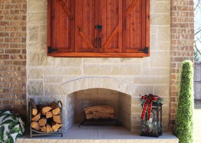 Outdoor Fireplace OKC 128