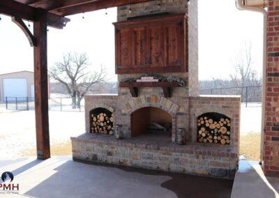 Outdoor Fireplace OKC 130
