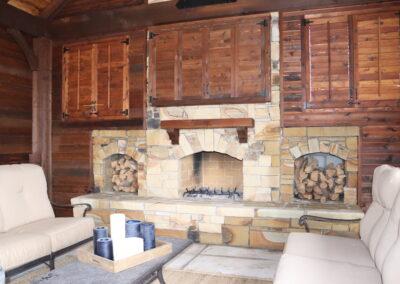 Outdoor Fireplace OKC 131