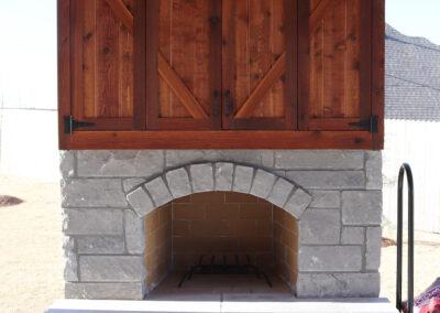 Outdoor Fireplace OKC 132