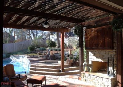 Outdoor Fireplace OKC 133