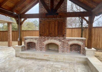 Outdoor Fireplace OKC 134