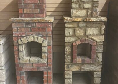 Outdoor Fireplace OKC 135