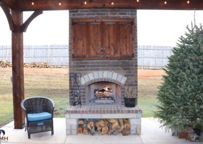 Outdoor Fireplace OKC 136