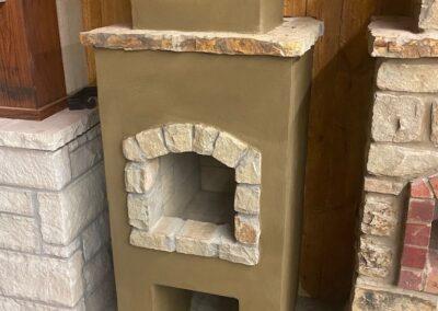 Outdoor Fireplace OKC 137