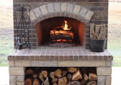 Outdoor Fireplace OKC 138