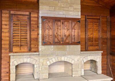 Outdoor Fireplace OKC 139