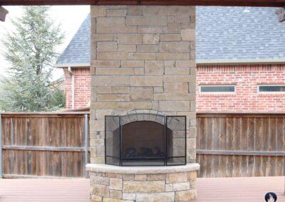 Outdoor Fireplace OKC 140