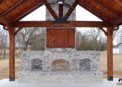 Outdoor Fireplace OKC 152