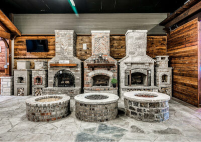 Outdoor Fireplace OKC 154