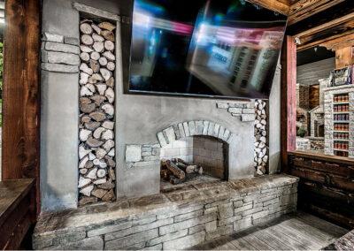 Outdoor Fireplace OKC 155