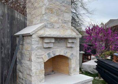 Outdoor Fireplace OKC 157