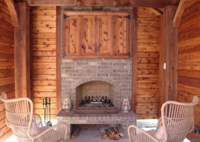 Outdoor Fireplace OKC 158