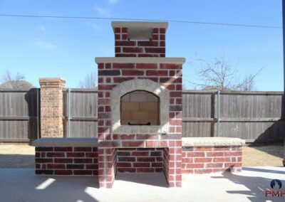 Outdoor Fireplace OKC 159