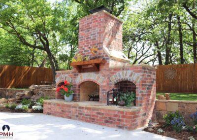 Outdoor Fireplace OKC 161