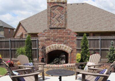 Outdoor Fireplace OKC 164 (1)