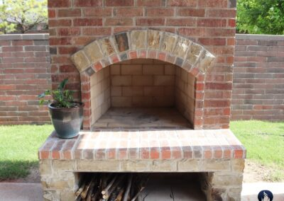 Outdoor Fireplace OKC 166