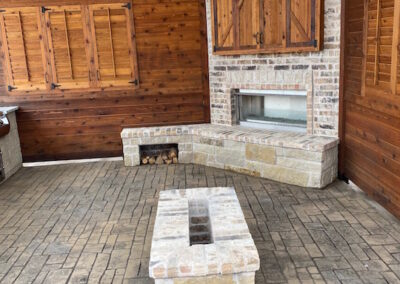 Outdoor Fireplace OKC Great Area Hangout