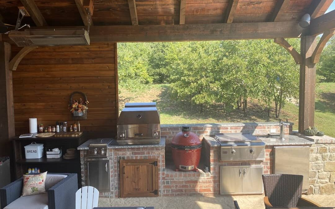 Outdoor Kitchen   Are You Wanting to Cook Outside?
