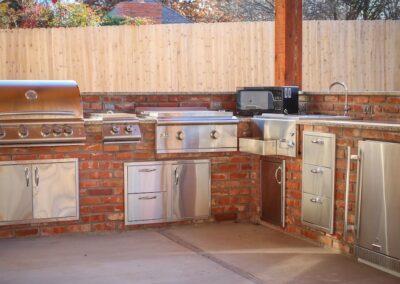 Outdoor Kitchen OKC Spacious Outdoor Area