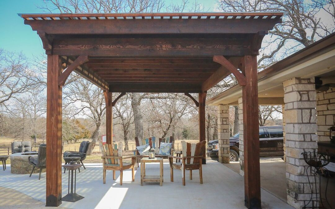 Pergola OKC Relaz By The Pool In Style