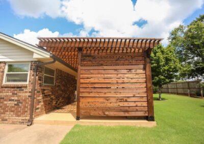 Privacy Wall OKC 34