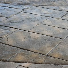 Stamped Concrete OKC Uniform Walkway