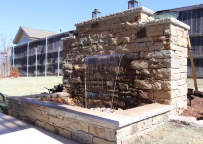 Water Feature OKC 1