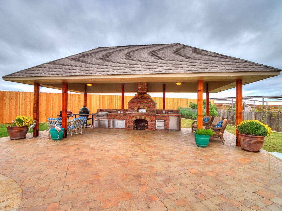 Outdoor Kitchens OKC | Outdoor Kitchen 1